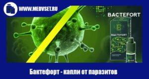 Бактефорт капли от паразитов