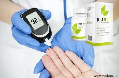 Принцип действия средства от диабета Дианот