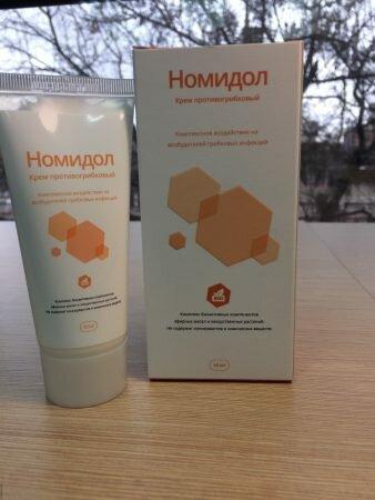 Крем Номидол – новое средство от грибка