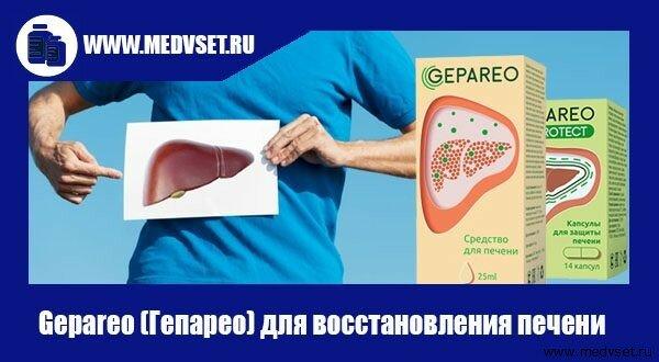 Gepareo (Гепарео) для восстановления печени